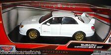 Motormax  Subaru Impreza WRX  STI WHITE 1/24 Diecast  Car 73330WH