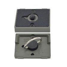 Quick Release Plate 200PL-14 PL Compatible for Manfrotto Bogen Tripod Head