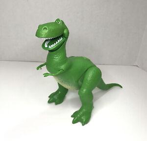 "Toy Story Deluxe Talking Rex Dinosaur Mattel 8"" Disney Pixar (2017)"