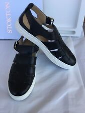 STOKTON SNEAKERS  Women's Black Shoes,  size 39, Calf  Scarpe  Donna  vitello