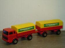 Mercedes Truck & Trailer - Matchbox Lesney Superfast 1 England *39190
