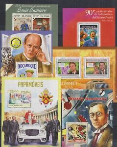 A903. 6 Difirent items - MNH - Famous People