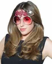 Pink Bride to Be Novelty Fancy Dress Glasses Hen Night Party Accessory