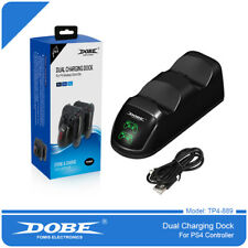 DOBE TP4-889 Dual Charging Dock for Sony DualShock 4 Controller - Black