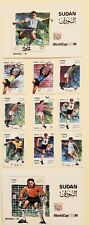 Sudan Stamps Set, 1994 World Cup Soccer Championships. Sc#470-480