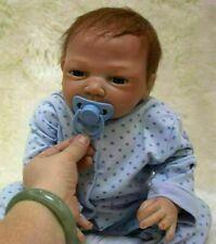 55.9cm Reborn Bebé Muñecas Niña Niño Real Life Toy Handmade silicona suave