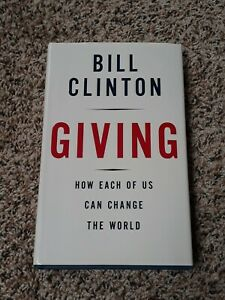 BILL CLINTON Signed Autograph Boom Giving US President