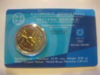 Griechenland 2 Euro Olympische Spiele Athen 2002