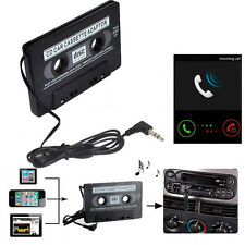 3.5mm Car Stereo Cassette Tape Adapter For Smartphone iPod MP3 Audio CD Player
