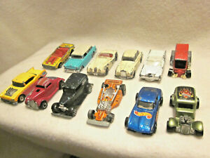 Vintage Hot Wheels Lot Of 12 Matchbox And one Maisto Nomad MFG 68-88