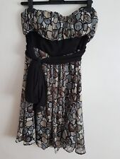 Ref 405 - MISO - Ladies Womens Girls Sleeveless Party / Evening Dress Size 10