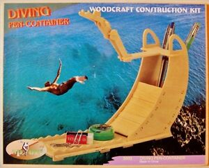 Diving Pen Container - 3D Woodcraft Construction Kit -New, Sealed!