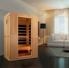 Maxxus Infracolor 2-Person Low EMF Far Infrared Sauna with 6 Dual Tech Heaters