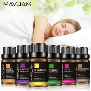 10ml Aromatherapy Pure Essential Oils Therapeutic Oil For Sleep - Home Diffuser