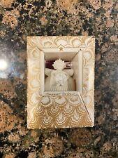 Margaret Furlong Ornament~Angel Holding Christmas Wreath
