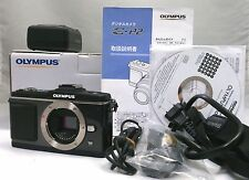 OLYMPUS PEN E-P2 12.3 MP Digital Camera Black Boxed [Near Mint] From Japan