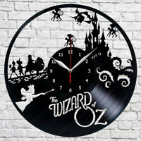 The Wizard of Oz Vinyl Record Wall Clock Decor Clock  12'' (30cm) Wanduhr 253
