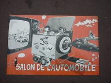 JIDEHEM / STARTER  / RARE AFFICHE SALON DE L AUTOMOBILE  1969   /  68 X 48  CM