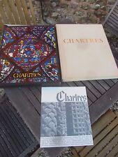 CHARTRES (cathédrale) , DRAEGER et VERVE éditeurs, 1963