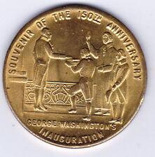 "Médaille ""SOUVENIR OF THE 150ème ANNIVERSARY INAUGURATION GEORGE WASHINGTON'S"