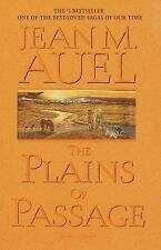 THE PLAINS OF PASSAGE JEAN M AUEL EARTHS CHILDREN NICE HB BOOK 760 PAGES