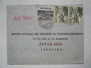 1950 MOZAMBIQUE, LOURENCO MARQUES AIR MAIL COVER