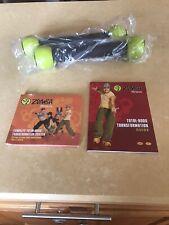 Zumba Fitness Exhilarate Body Shaping System 3 Dvd Kit With Toning Sticks Nib