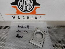 Hubbell 20406 Cast Aluminum Plate & Hardware Without Lift Cover New