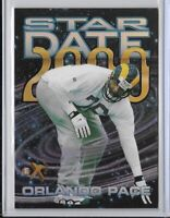 1997 E-X 2000 Orlando Pace Star Date 2000 Insert SP No. 10 Of 15