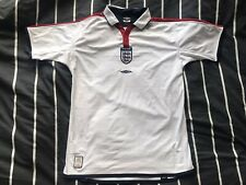 England 2003-2005 Umbro Home Shirt - Size Youth XL (Good Condition)