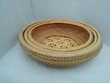 Sale!Bamboo baskets centerpiece: wedding & summer entertain indoors or outdoors
