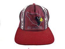 Vintage Hat Cap NFL St. Louis Cardinals New Era Snapback Mesh 1980'S  Made USA
