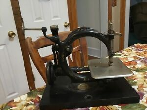 1875 Wilcox & Gibbs Antique Sewing Machine