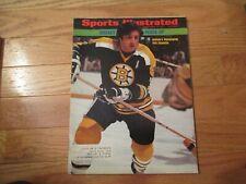 Phil Esposito Boston Bruins Sports Illustrated Nov 19 1973