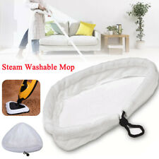 6Pcs Replacement Steam Washable Mop Pads Micro Fibre Clothes GP Cleaner H2O