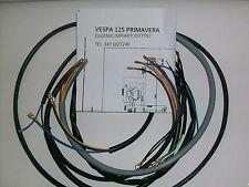 IMPIANTO ELETTRICO ELECTRICAL WIRING VESPA 125 PRIMAVERA CON SCHEMA ELETTRICO