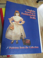 Virginia Gordon's Fashionable dolls Patterns Collection / Lady Doll 1980