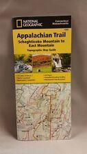 National Geographic Appalachian Trail Map CT MA Schaghticoke Mtn - East Mtn 1509
