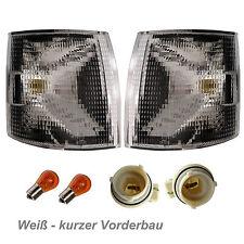VW TRANSPORTER T4 91 - 03 BLINKER weiß RECHTS LINKS mit Fassung und Birnen BUS
