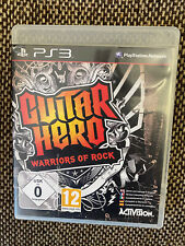 Guitar Hero Warriors Of Rock Playstation 3 Complete With Manual Free Fast Post