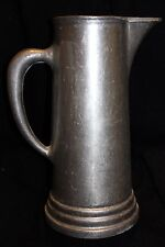 Pewter Water Pitcher - Rough