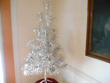 Vintage 4 FT. ALUMINUM CHRISTMAS TREE COMPLETE in BOX - 31 Branch - #2