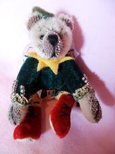 Künstlerteddy Miniatur Bär Bear PETER PAN Mayfair Edition Wilkinson 12cm so süß