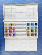 24 WHITE NIGHTS PROFESSIONAL WATERCOLOURS Paint Set Palette Petersburg full pans