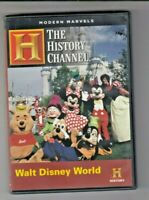 The History Channel Modern Marvels Walt Disney World Engineering Documentary DVD