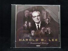 Harold B Lee : A Dramatized History by Brian Kelly and Petrea Kelly (2004, CD)