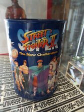 Vintage : STREET FIGHTER II 2 : tirelire métallique cylindrique Money box