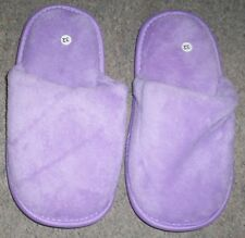 Chaussons fille mules violet taille pointure 32