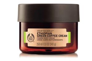 The Body Shop Spa of the World Ethiopian Green Coffee Cream 350 ml Firming Cream