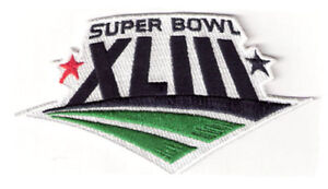 2009 NFL Super Bowl XLIII Jersey Patch Pittsburgh Steelers Embroidered Cardinals